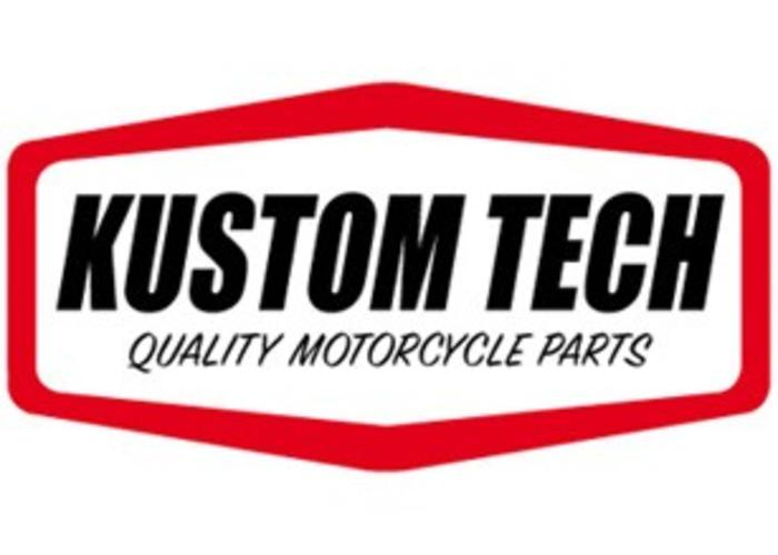 "Kustom Tech Brass Inverted Hand Controls 1"" Bars"
