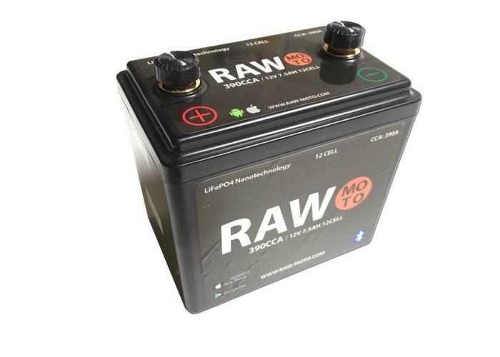 Raw Moto 390CCA SMART Bluetooth Lithium Accu #3