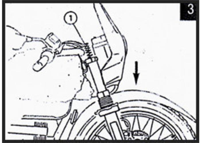 Hagon BMW G 650 X Moto **07> Voorvork Veren Set