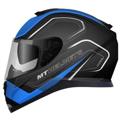 MT Helmets Thunder III SV Trace Zwart/Blauw