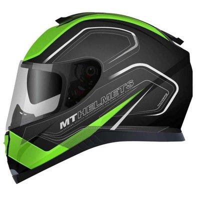 MT Helmets Thunder III SV Trace Zwart/Groen