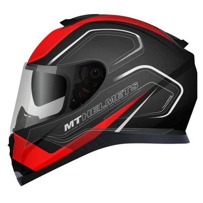 MT Helmets Thunder III SV Trace Zwart/Rood