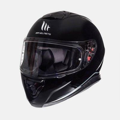 MT Helmets Thunder III SV Solid Gloss Zwart