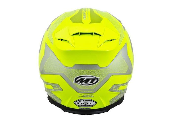 MT Helmets Blade SV Reflexion Fluor Geel/Grijs