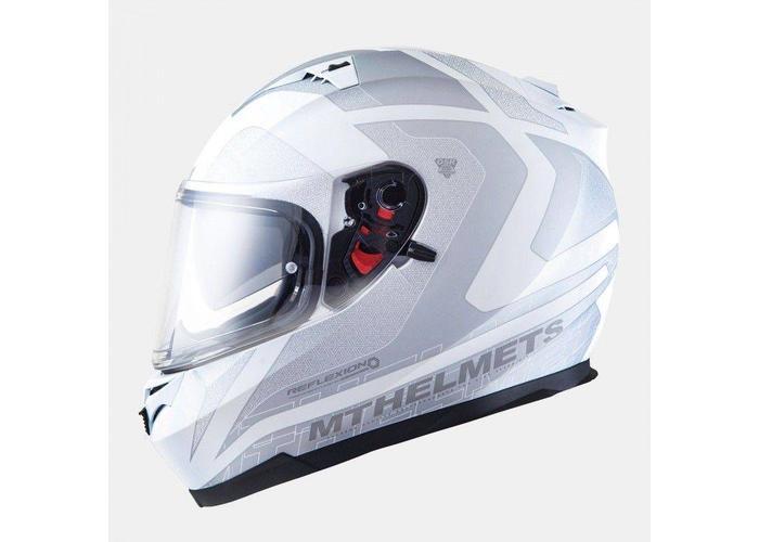 MT Helmets Blade SV Reflexion Wit / Grijs