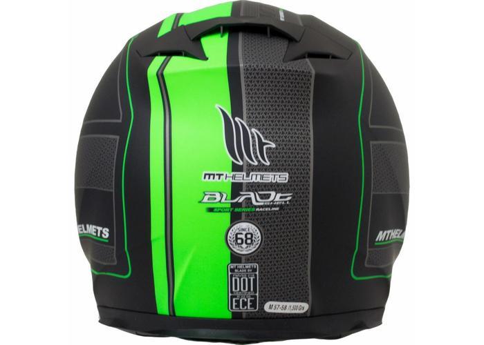 MT Helmets Blade SV Raceline  Zwart/Groen