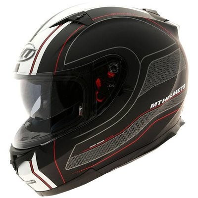 MT Helmets Blade SV Raceline Zwart/Rood