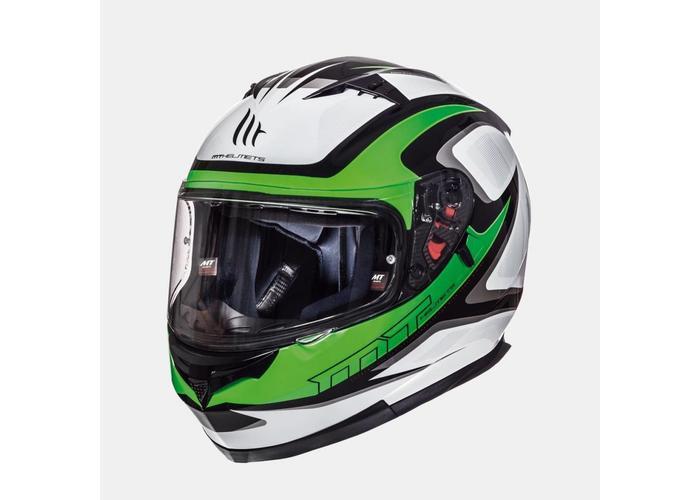 MT Helmets Blade SV Morph Fluor Groen/Grijs