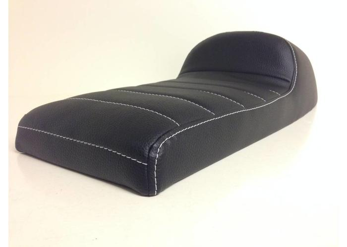 C.Racer Beklede Cafe Racer Seat Tuck N' Roll Stitch Zwart Type 34