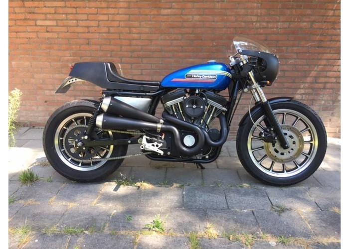 Sportster 883 frame 1987 / motorblok 1991 evo 5 bak