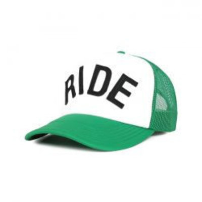 Roeg RIDE trucker groen