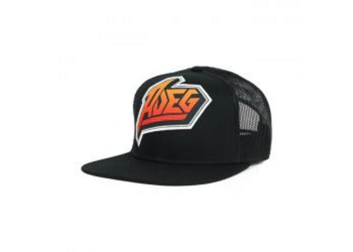 Roeg 7 TEES cap Zwart