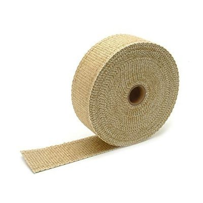 MCU 10M Uitlaat Wrap / Exhaust Wrap / Heat Wrap Sand