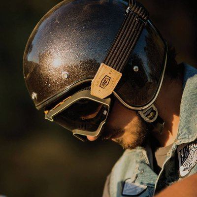 100% The Barstow Legend Raw Bronze Goggle