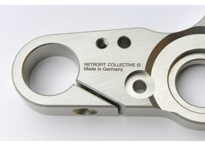RCO BMW Triple Clamp 36mm - Scrambler - Anodized Natural