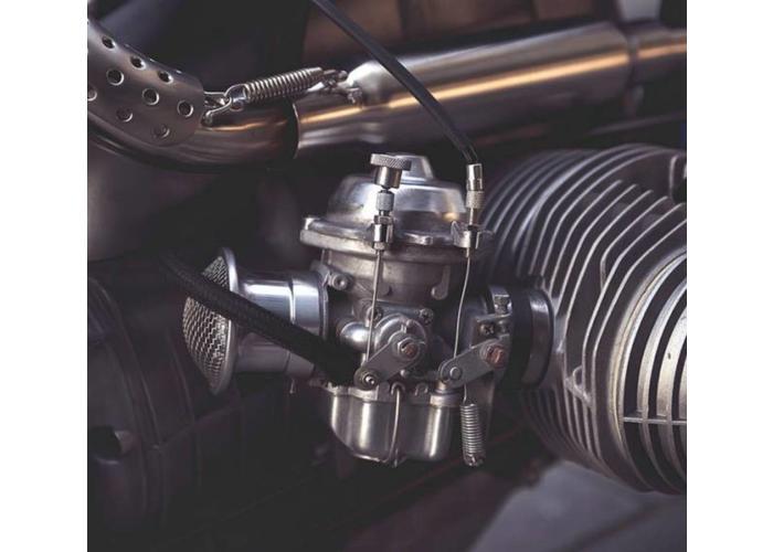 BMW Choke Conversie Set TOT < 9/'80 Modellen -  Zwart