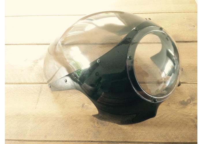 Retro Oldskool Cafe Racer Kuip Smoke
