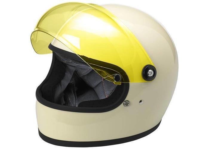 Biltwell Gringo S Anti fog Bubble Shield Yellow