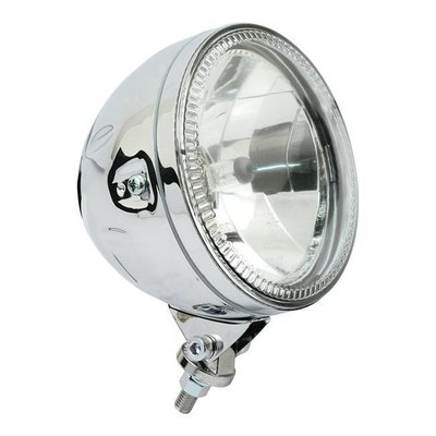 "Highsider 5.75"" Koplamp met LED Ring Halo Bottom Mount Chrome"