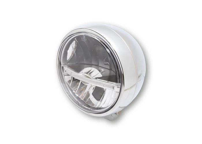 Highsider 5 3/4 inch LED main Koplamp Jackson Chroom
