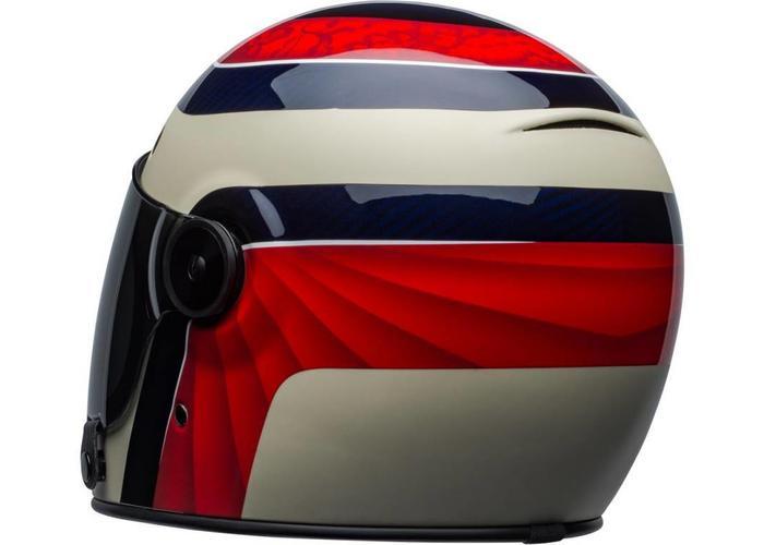 Bell Bullitt Carbon Helm Hustle Matte / Gloss Red / Sand / Candy Blue
