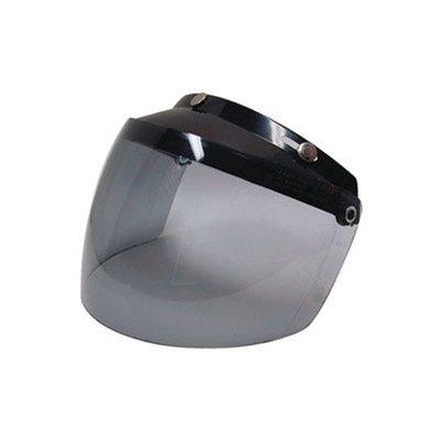 Bell Custom 500 3-Snap Flip Shield Smoke