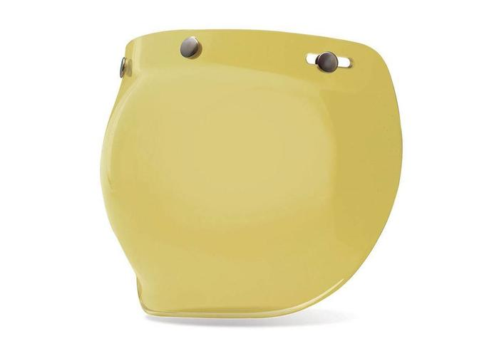 Bell Bubble Shield Yellow Custom 500