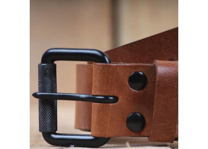 Trip Machine Riem - Vintage Tan enkele pin