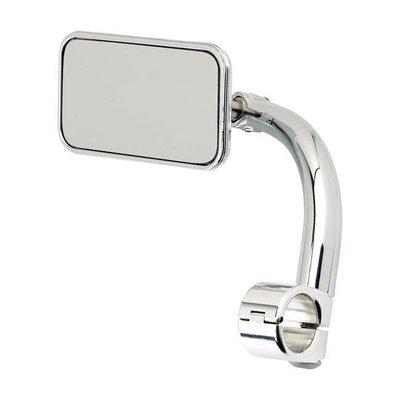"Biltwell Rechthoek Utility Mirror Clamp-On-7/8 ""Chrome"