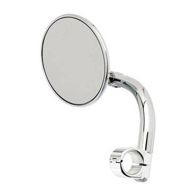 "Biltwell Ronde Utility Mirror Clamp-On-1 ""Chrome"