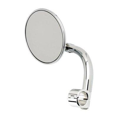 "Biltwell Ronde Utility Mirror Clamp-On-7/8 ""Chrome"