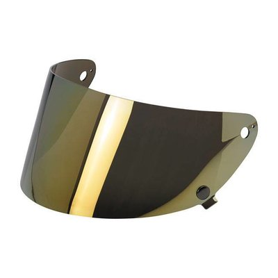 Biltwell Gringo S Anti-Fog Face shield Gold Mirror