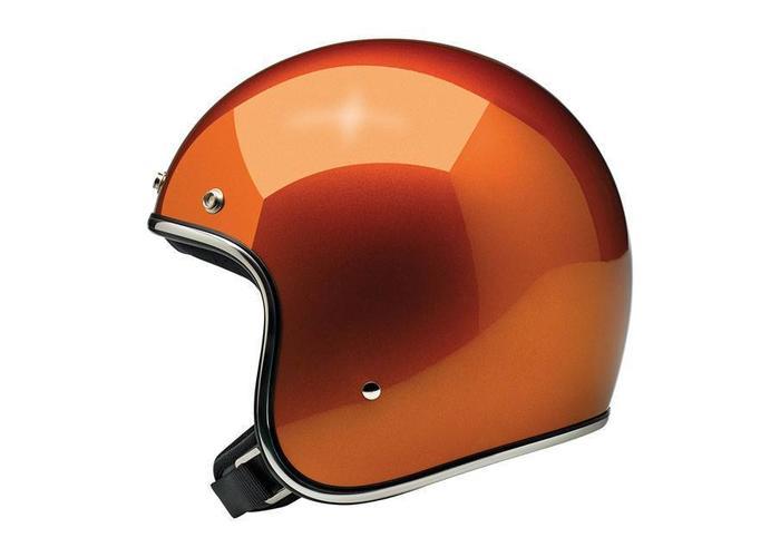 Biltwell Bonanza 3/4 Open Face Helmet Gloss Copper