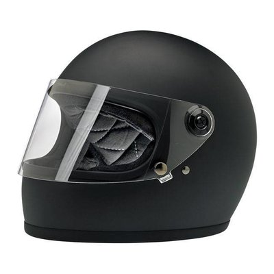 Biltwell Gringo S helm Flat Black ECE goedgekeurd