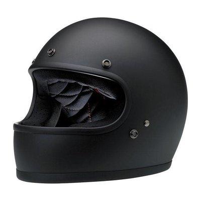 Biltwell Gringo helm Flat Black ECE goedgekeurd