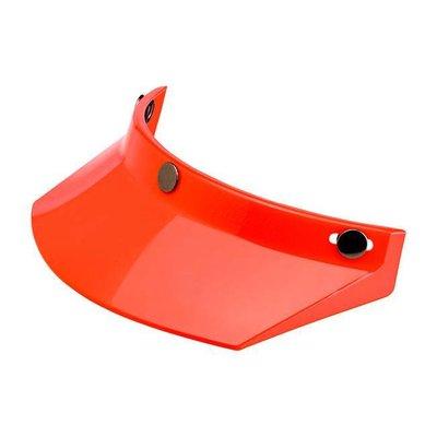 Biltwell Moto Visor Orange