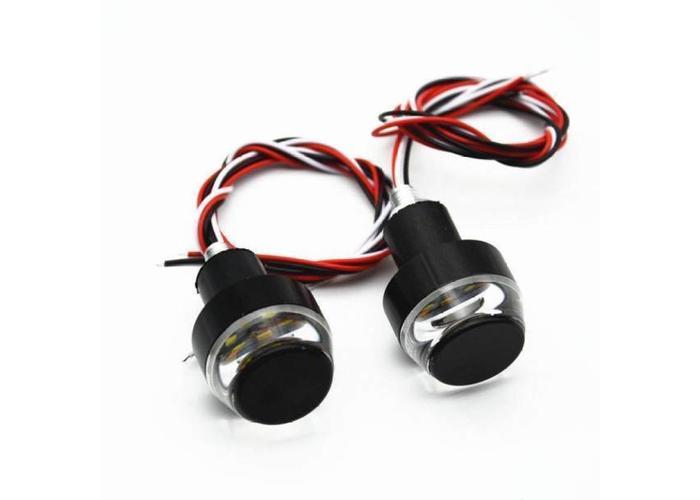 Basic Bar-end LED-indicator Zwart