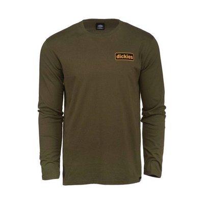 Dickies Melfa T-shirt met lange mouwen olijfgroen