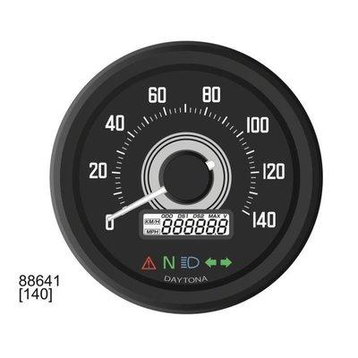 Daytona Velona 60MM snelheidsmeter 140km / h