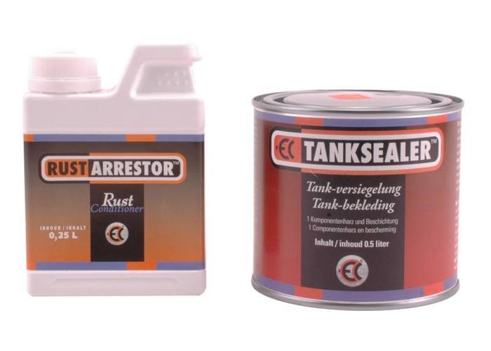 Rust Arrestor Tank sealer / coating set