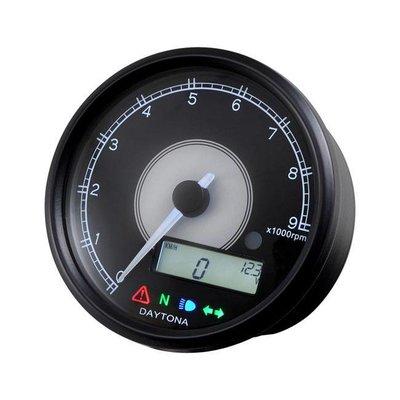 Daytona Velona 80MM Speedo / toerenteller 9000 tpm