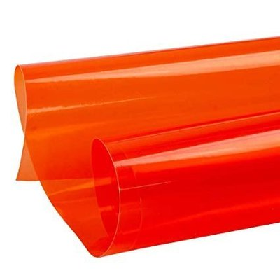 Oranje richtingaanwijzer folie
