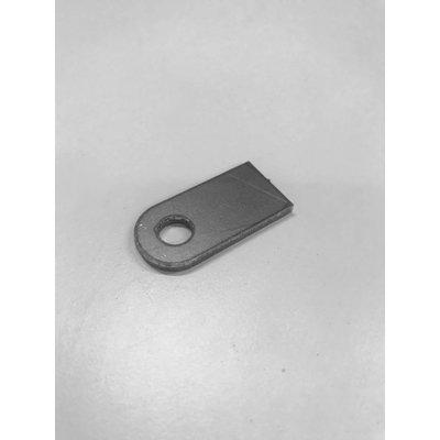 Montagestrip 8 mm met sleuf 40 mm