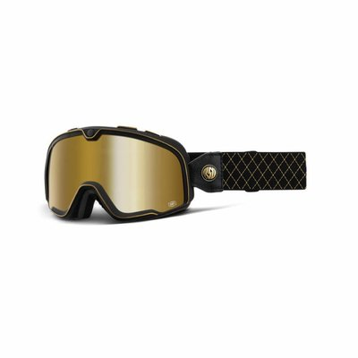 100% Barstow Roland Sands Mirror Gold Lens 2019