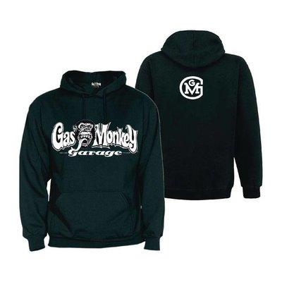 Gas Monkey GMG hoodie logo zwart