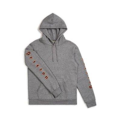 BRIXTON Primo hoodie grijs