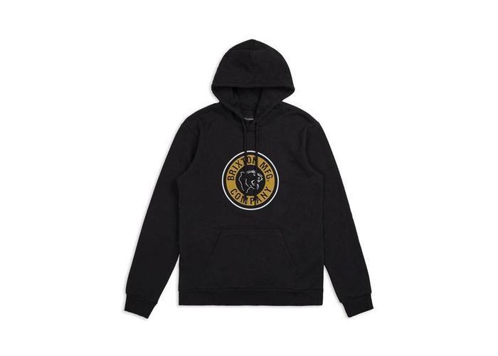 BRIXTON Forte INTL hoodie zwart met logo