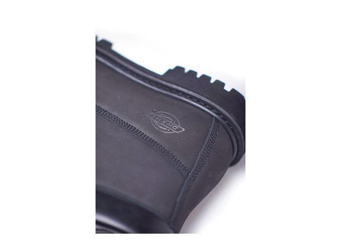 Dickies Asheville 6 '' waterdichte boots zwart premium Nubuck leer
