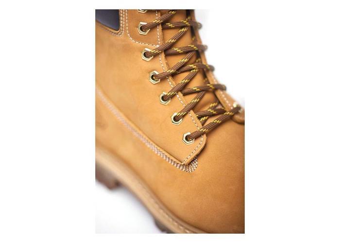 Dickies Asheville 6 '' waterdichte laarzen Honing bruin premium nubuckleer