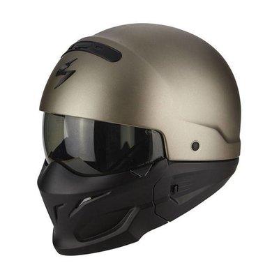 scorpion Exo-combat solid helm titanium